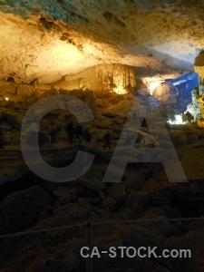 Southeast asia sung sot cave stalagmite stalactite unesco.