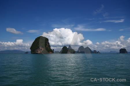 Southeast asia thailand sky island cloud.