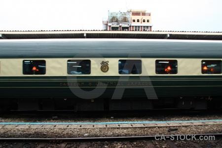 Southeast asia train thailand bangkok eastern oriental express.