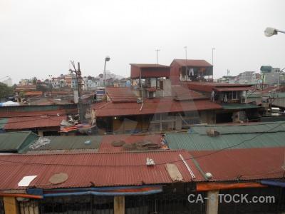 Southeast asia vietnam roof hanoi sky.