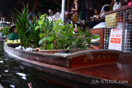 Southeast asia water person thailand canal.