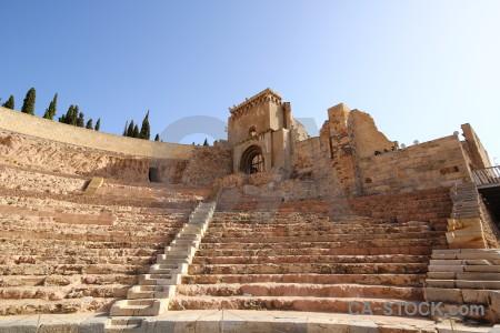 Spain amphitheatre theatre museum cartagena.