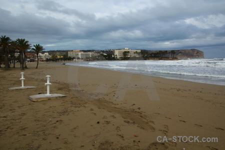 Spain arenal beach sea javea.