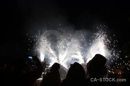 Spain black europe fiesta correfocs.