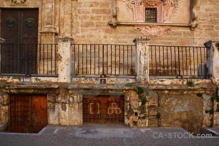 Spain brown europe valencia railing.