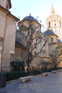 Spain building europe church valencia.
