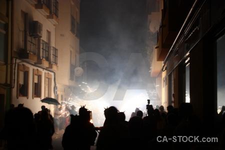 Spain correfocs fiesta firework europe.