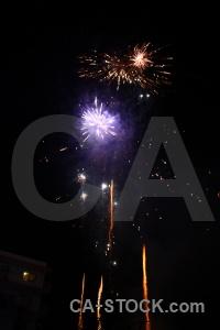 Spain correfocs firework fiesta black.