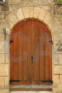 Spain door wood stone europe.