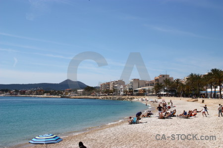 Spain europe blue javea.
