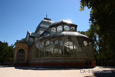 Spain europe crystal palace madrid parque del retiro.