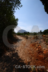 Spain europe javea mountain soil.