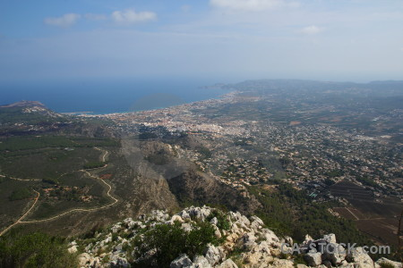 Spain europe la plana javea coast.