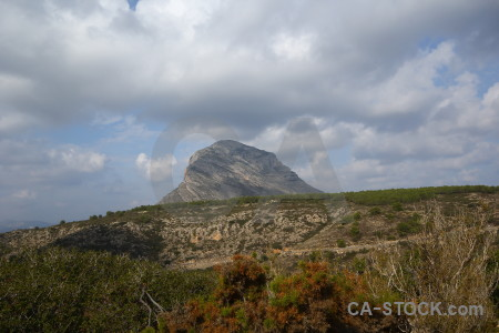 Spain europe montgo climb javea mountain.