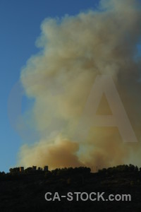 Spain europe montgo fire javea smoke.