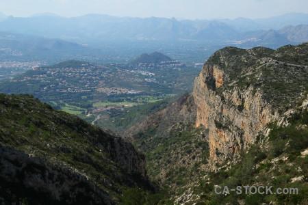 Spain europe rock javea montgo climb.