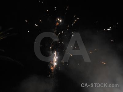 Spain firework black javea correfocs.
