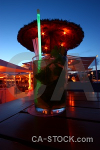 Spain glass light straw javea.