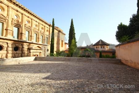 Spain granada la alhambra de palace historic.