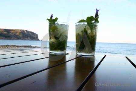 Spain javea drink sea water.