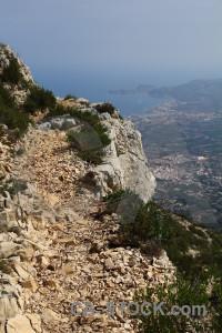 Spain javea montgo climb europe.