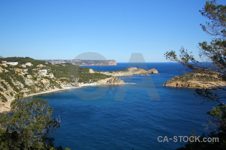 Spain javea water europe sea.