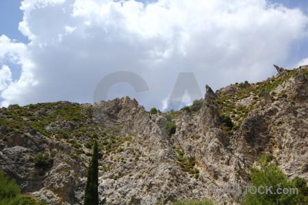 Spain landscape dry europe tree.