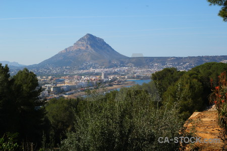 Spain montgo europe javea mountain.