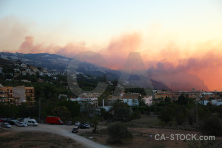 Spain montgo fire smoke europe javea.
