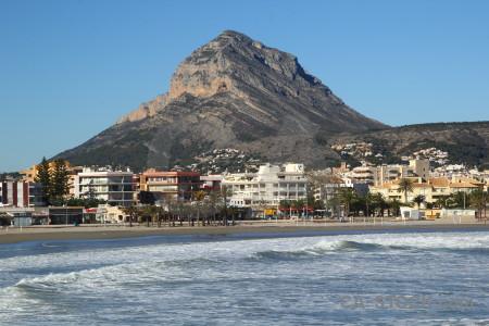 Spain montgo javea wave europe.