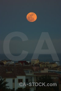 Spain moon javea europe.