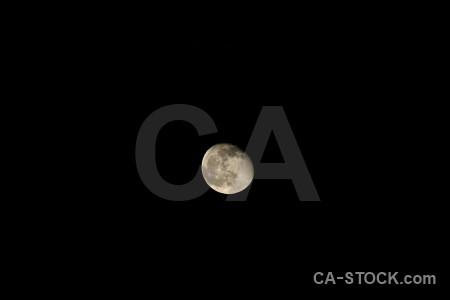 Spain moon javea europe black.