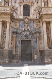 Spain murcia iglesia catedral de santa maria europe building.