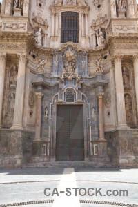 Spain murcia iglesia catedral de santa maria europe building.