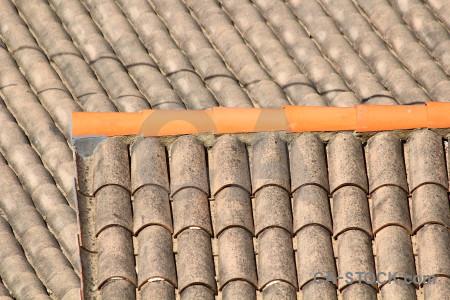 Spain orange tile texture europe.