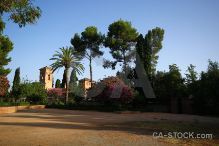 Spain park garden brown europe.