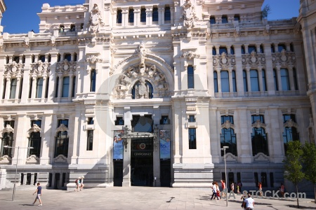 Spain person building europe madrid.