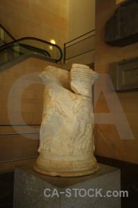 Spain pillar europe museum roman theatre.
