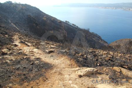 Spain rock ash javea europe.