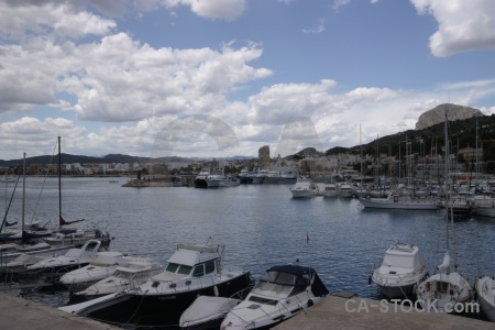 Spain sky javea boat europe.