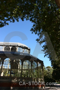 Spain sky parque del retiro building madrid.