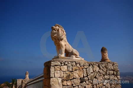 Spain stone sky javea europe.