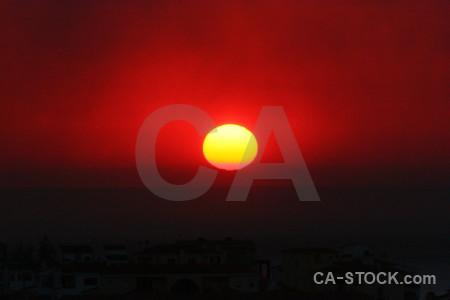 Spain sunrise sunset sun javea.