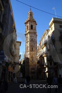 Spain valencia building blue europe.
