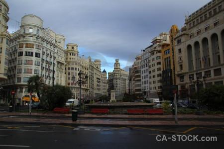 Spain valencia building europe.