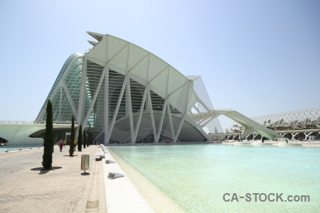 Spain valencia design futuristic art.
