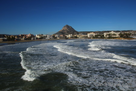 Spain water europe javea wave.