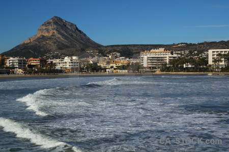 Spain wave javea water arenal.