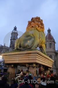 Statue animal spain valencia europe.