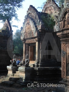 Statue carving southeast asia khmer siem reap.
